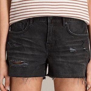 ALL SAINTS Serene Denim Shorts